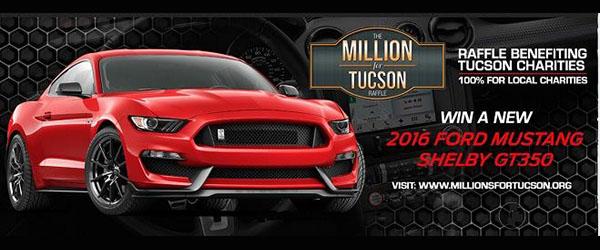 VROOOM VROOOM- Millions for Tucson Raffle