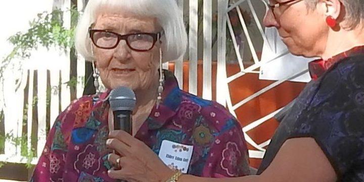 St. Luke's Elder Edna Speaks at 100-Year Celebration Kick-Off