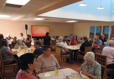 Friends and Family Night at St. Luke's