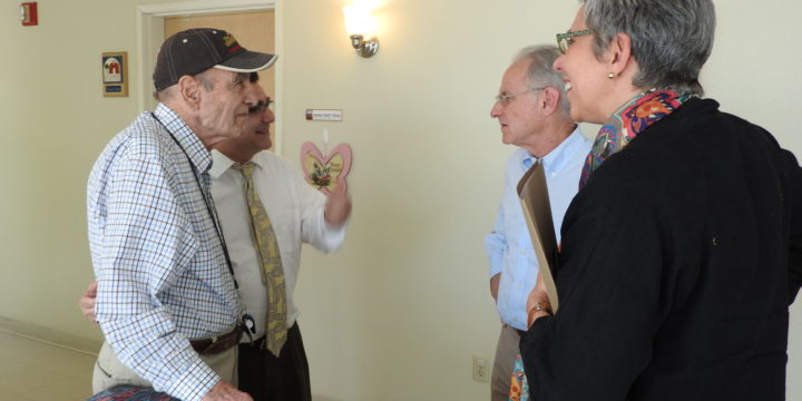 Tucson Mayor Visits St. Luke's Home