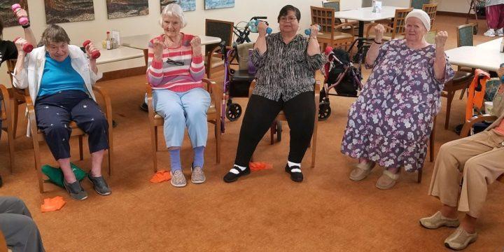 Elders Pumping it at St. Luke's for Healthier Lives