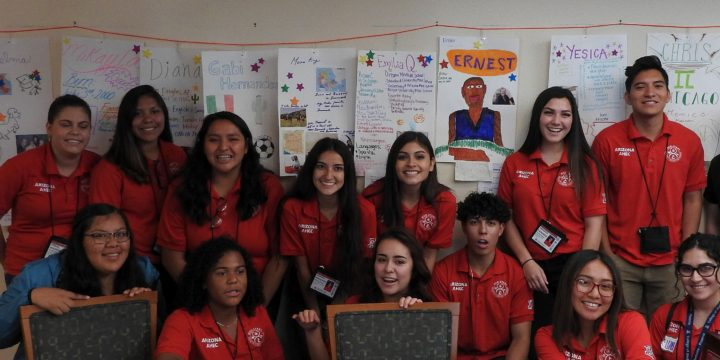 Med-Start Students Create Elder Profiles